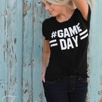 Gameday Tee in White