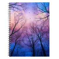 """A New Day Will Dawn"" Custom Design Notebook"