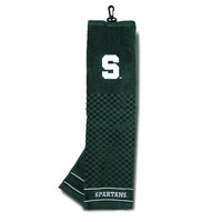 Michigan State Spartans NCAA Embroidered Tri-Fold Towel