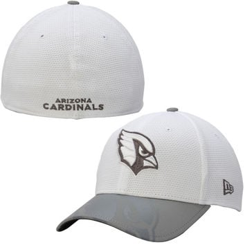 Arizona Cardinals New Era Series Gunner Two-Tone 39THIRTY Flex Hat – White