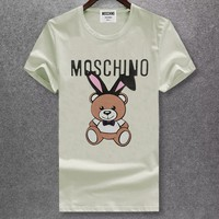 moschino Women Man Fashion Simple Shirt Top Tee-25