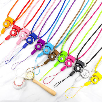 Fashion Universal Detachable lanyard for phone neck Mobile Phone Straps lariat with free shipping