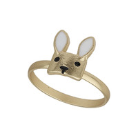 RABBIT FACE RING
