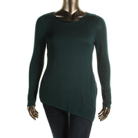 INC Womens Knit Long Sleeves Pullover Top