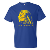 Crazy Horse War Paint Graphic T-Shirt