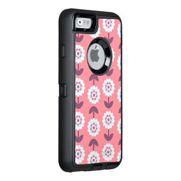 charming adorable floral OtterBox iPhone 6/6s case