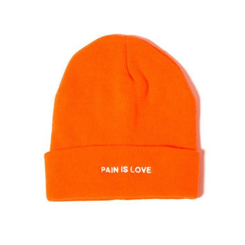 Pain is Love Hat