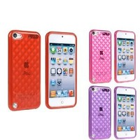 Insten TPU Rubber Case Combo for iPod touch 5th Generation - 3 Packs