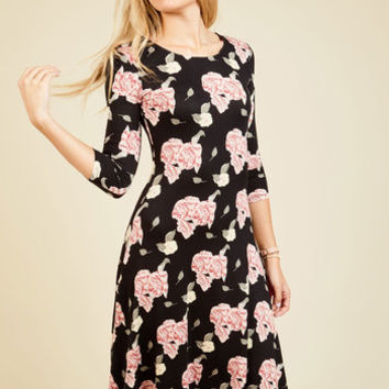 I Beg Your Garden Floral Dress | Mod Retro Vintage Dresses | ModCloth.com