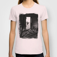 Abandoned Buildings have also Dwellers T-shirt by Rainer Steinke