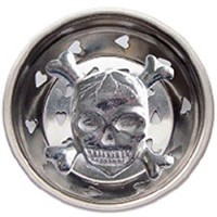 Skull W/ Crossbones Kitchen Sink Strainer Drain Decor