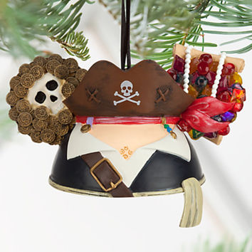 Disney Parks Pirates of the Caribbean Ear Hat Christmas Ornament New with Tags