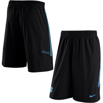North Carolina Tar Heels Nike 2015 Sideline Player Speed Vent Shorts - Black