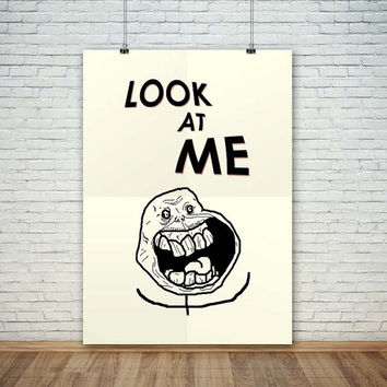 Look At Me Funny, (Instant Download) , 300 dpi, Popular Digital Art, Decoration, Poster