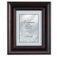 """Lawrence Frames 8"""" x 10"""" Vermont Picture Frame in Espresso - 410580 - Decor"""