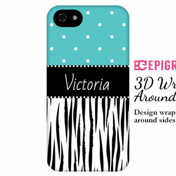 Personalized iPhone 6 case, tiger print iPhone 6 plus case, 3D wrap case, iphone 5c case, iPhone 5s case, iPhone 4s case, Galaxy S5 case
