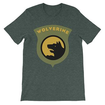 14th Wolverine Division Insignia T-Shirt