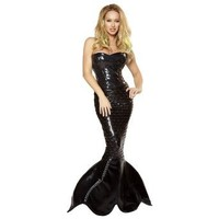 Roma Costume 2 Piece Mermaid Mistress As Shown