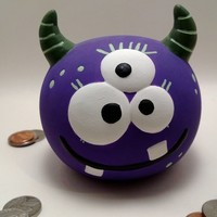 Addison the Monster Bank from just for littles