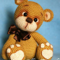 Elfin Thread- Teddy Bear Amigurumi PDF Pattern (Teddy Bear crochet  PDF pattern)
