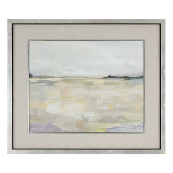 Dyfi Abstract Landscape Framed Print Artwork by Uttermost