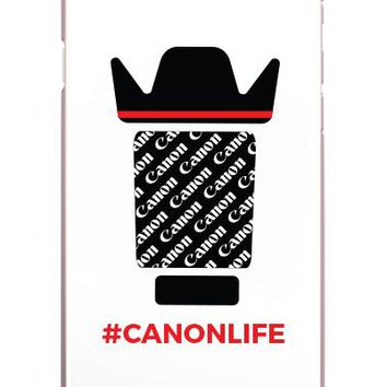 Canon Life Lens IPhone Case (Case available for 5c/5s/6/6s7/ 7+) - PFIPHN0040