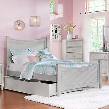 Jaclyn Place Gray 5 Pc Full Bedroom