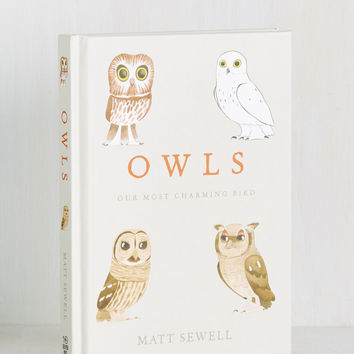 Owls: Our Most Charming Bird | Mod Retro Vintage Books | ModCloth.com