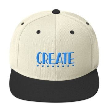 Snapback Hat | Embroidery 3D Puff