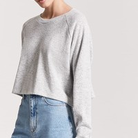 Heathered French Terry Top