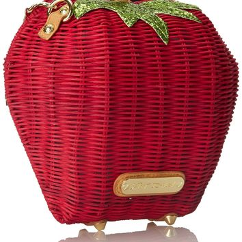 Betsey Johnson Strawberry Shoulder Bag