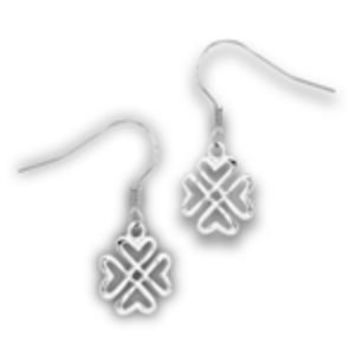 Stainless Steel Celtic Hearts Earrings