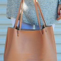 Carousel Ride Purse: Blush