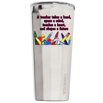 Corkcicle A Teacher Takes a Hand 24 oz Tumbler Cup