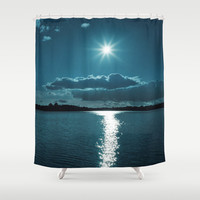Told You So Shower Curtain by Tordis Kayma