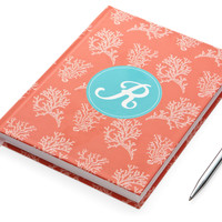 Hard Cover Journal, Coral, Journals