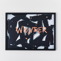 Isabella Rose Taylor Wonder Framed Art