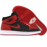 Air Jordan Alpha 1 (black / varsity red / white) - Shoes - 393733-001 | PickYourShoes.com