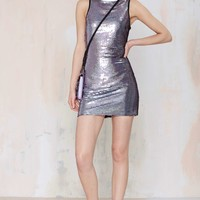 Nasty Gal Slither Sequin Dress