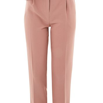 Ruffle Detail Peg Trousers | Topshop