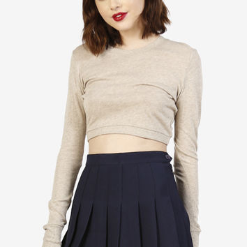Amira Tennis Pleat Skirt - Navy