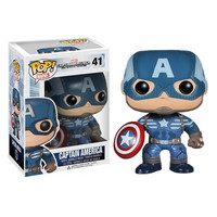 Steve Rogers Captain America Winter Soldier Pop Heroes Vinyl Figure