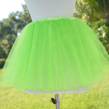 Adult Tutu, Lime green Tutu, Adult lime green tutu, green tutu
