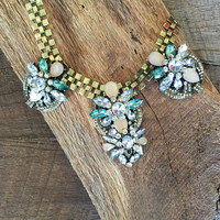 Emerald Isles Statement Necklace