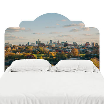 Downtown Detroit Headboard Decal
