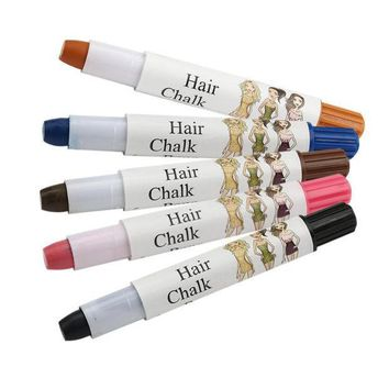 ICIK272 Beauty Girl Hot Joyous One-time Wax Cover Hair Highlights Gradient Pen Cover White Hair Pen Oct 27