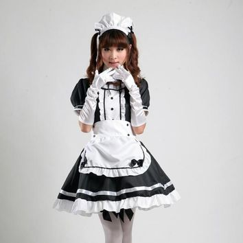 Shanghai Story Anime role-playing Akihabara cosplay outfit maid Comic Costumes maid cosplay women girl lolita dress uniform