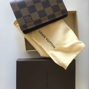 Louis Vuitton Pocket Organizer Wallet Brand New! Perfect Gift for Him!