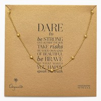 Women's Dogeared Boxed Station Necklace - Gold (Nordstrom Exclusive)