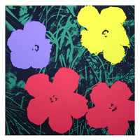Flowers 11.73, Sunday B. Morning by Andy Warhol (Screenprint)